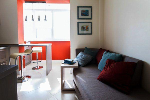 дизайн кухни 12 кв м с диваном фото 8