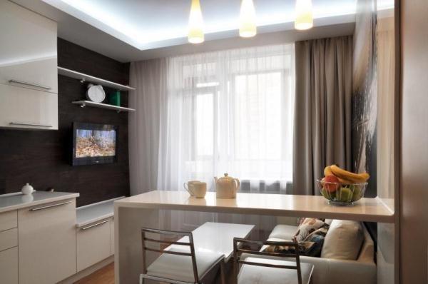 дизайн кухни столовой гостиной в частном доме фото 10