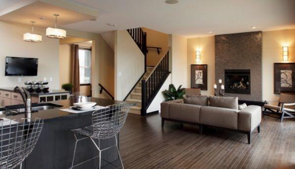 дизайн кухни столовой гостиной в частном доме фото 15