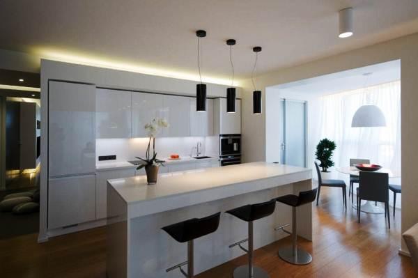 Дизайн кухни 14 кв. м фото с балконом