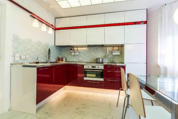 Дизайн интерьера кухни 14 кв. м фото
