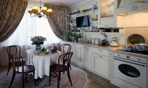 Дизайн интерьера кухни 14 кв. м фото 7