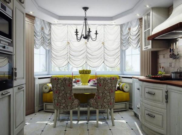 Дизайн кухни 14 кв. м фото с диваном