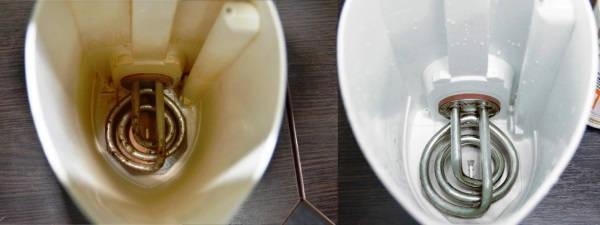 как очистить чайник от накипи в домашних условиях фото 2
