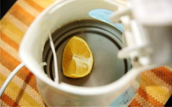как очистить чайник от накипи в домашних условиях фото 4
