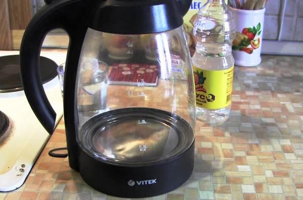 как очистить чайник от накипи в домашних условиях фото 5