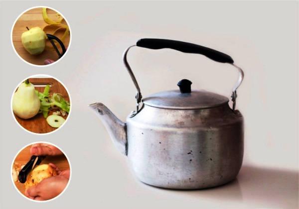 как очистить чайник от накипи в домашних условиях фото 7