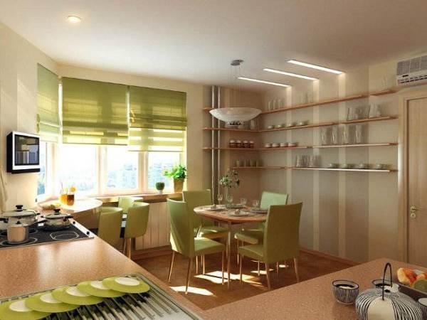 римские шторы на кухню фото 12