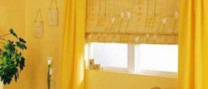 римские шторы на кухню фото 16