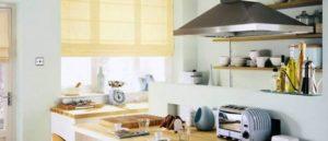 римские шторы на кухню фото 24