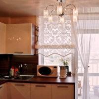 римские шторы на кухню фото 25
