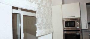 римские шторы на кухню фото 26