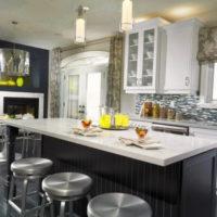 римские шторы на кухню фото 27