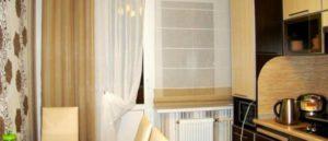 римские шторы на кухню фото 31