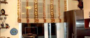 римские шторы на кухню фото 43