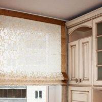 римские шторы на кухню фото 44