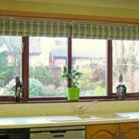 римские шторы на кухню фото 46