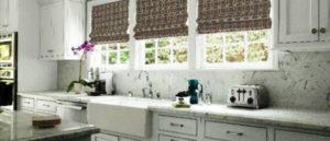 римские шторы на кухню фото 58