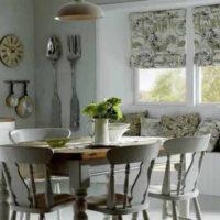 римские шторы на кухню фото 59