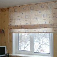 римские шторы на кухню фото 60