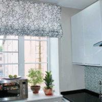 римские шторы на кухню фото 61