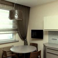 римские шторы на кухню фото 64