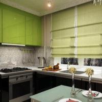 римские шторы на кухню фото 66