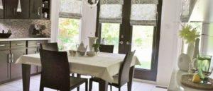 римские шторы на кухню фото 68