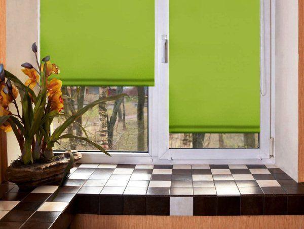 Дизайн штор на кухню фото 6