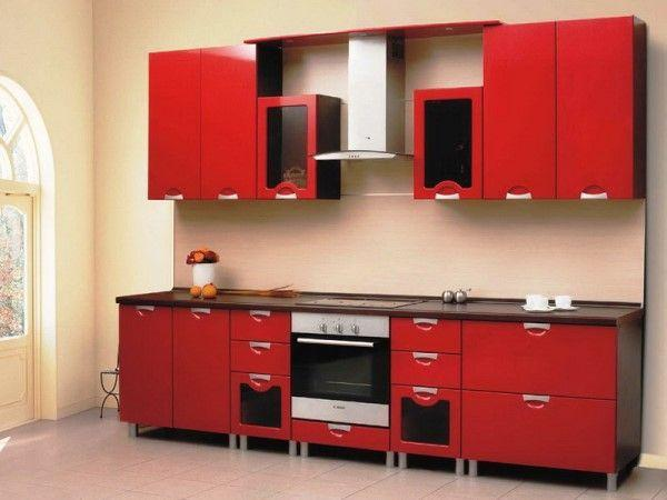 маленькие прямые кухни дизайн фото