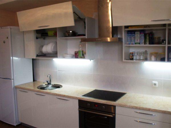 кухни фото дизайн малогабаритные прямые